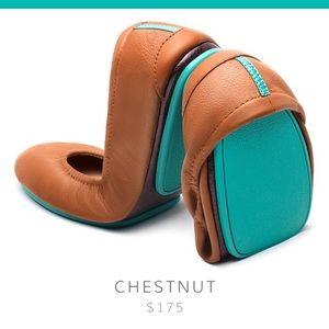 Nearly New Tieks in Chestnut Brown, Size 6